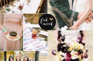 English Wedding { Jewel Tone Wedding Colour Palette }