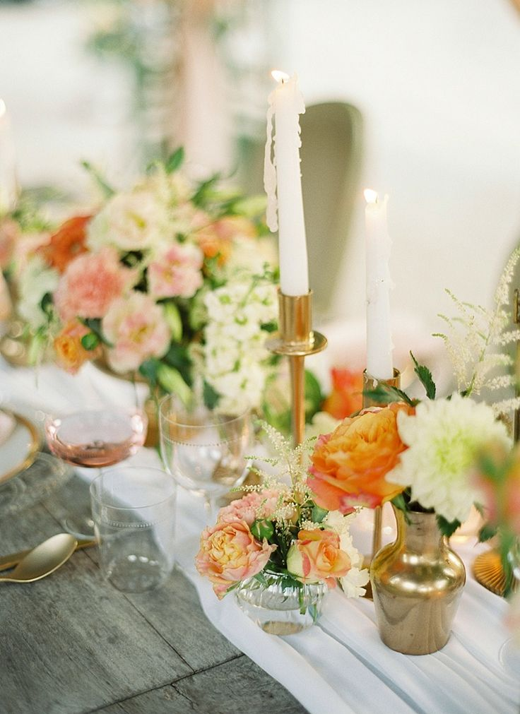 Stunning wedding tablescapes ideas