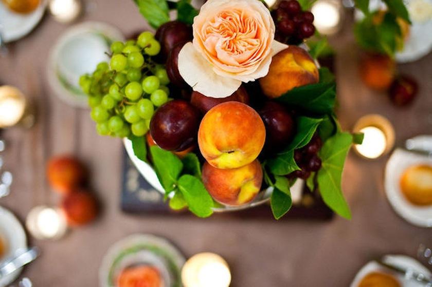 Fruits as centerpices - Stunning wedding centerpieces ideas | fabmood.com