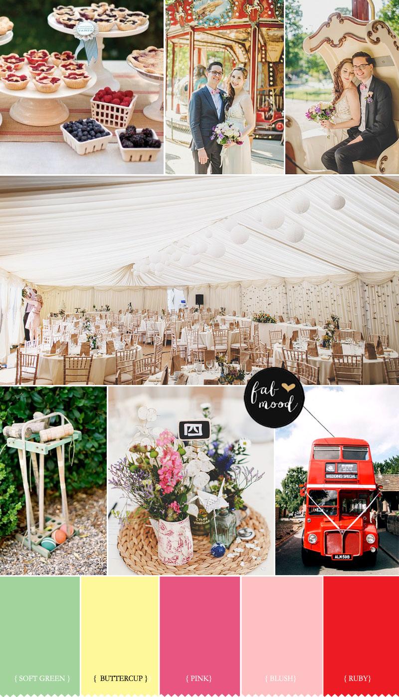 Summer Fete Wedding Theme for Summer Wedding | fabmood.com