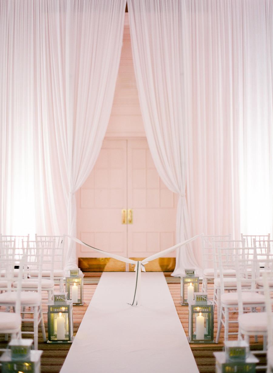 Ballroom blush and gold wedding ceremony,blush and gold wedding palette