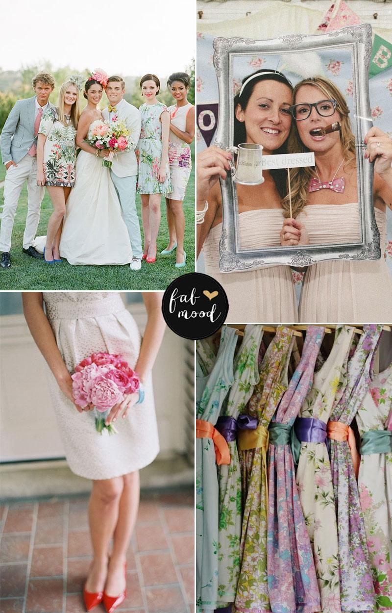 bridesmaids summer fete wedding | fabmood.com