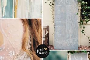 Gray,Greyed Jade + Sage Wedding for Vineyard Wedding