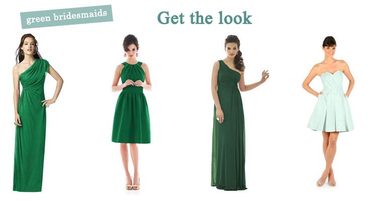 Green Bridesmaid Dresses : fabmood.com