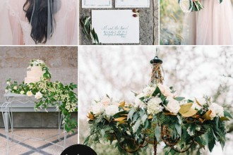 Nature Inspired Wedding Theme { Green Wedding Theme } fabmood.com