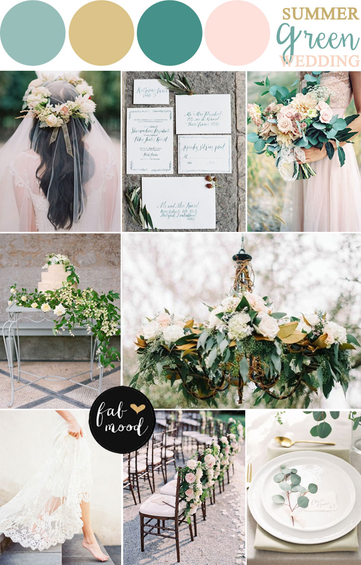 2 summer wedding theme colors for What are wedding themes