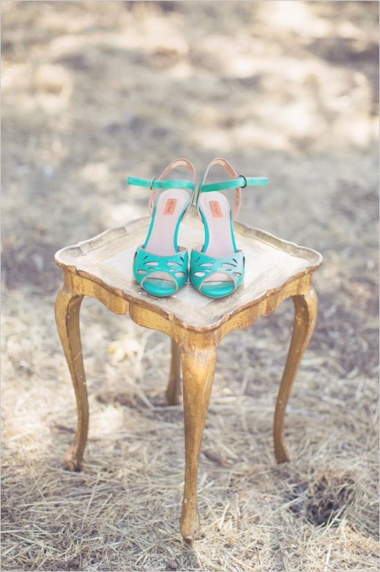 Gold Mint and Teal Wedding Palette { Vintage hint } : gold teal wedding ideas