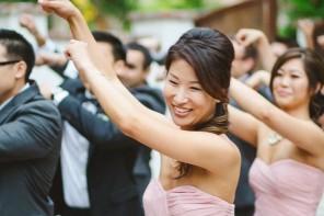 wedding party dancing - wedding reception ideas