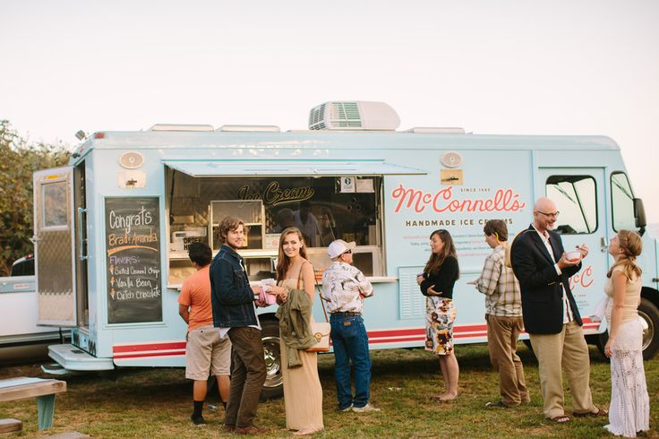 food truck wedding reception ideas