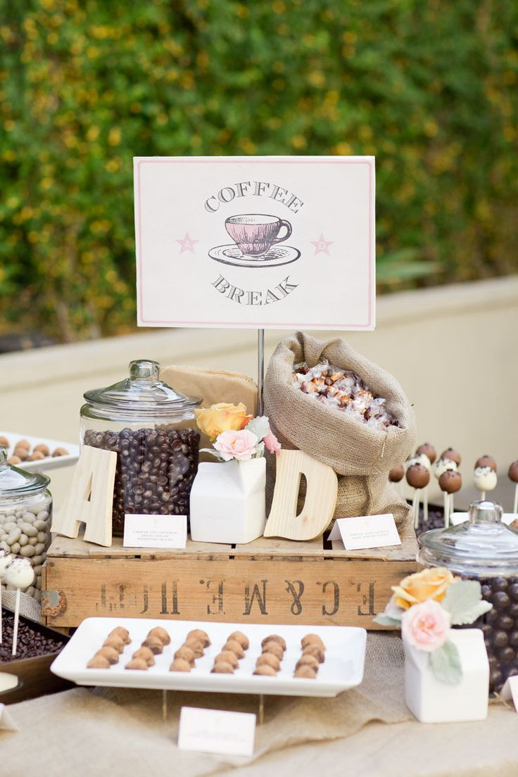 Coffee bar wedding | fabmood.com