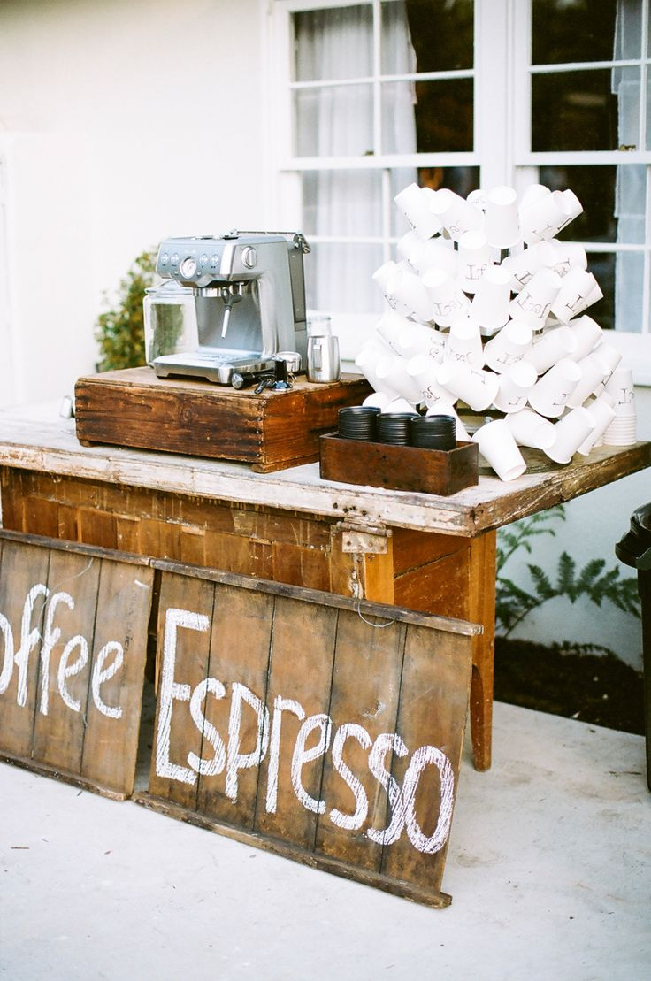 ideas coffee bar wedding reception | fabmood.com