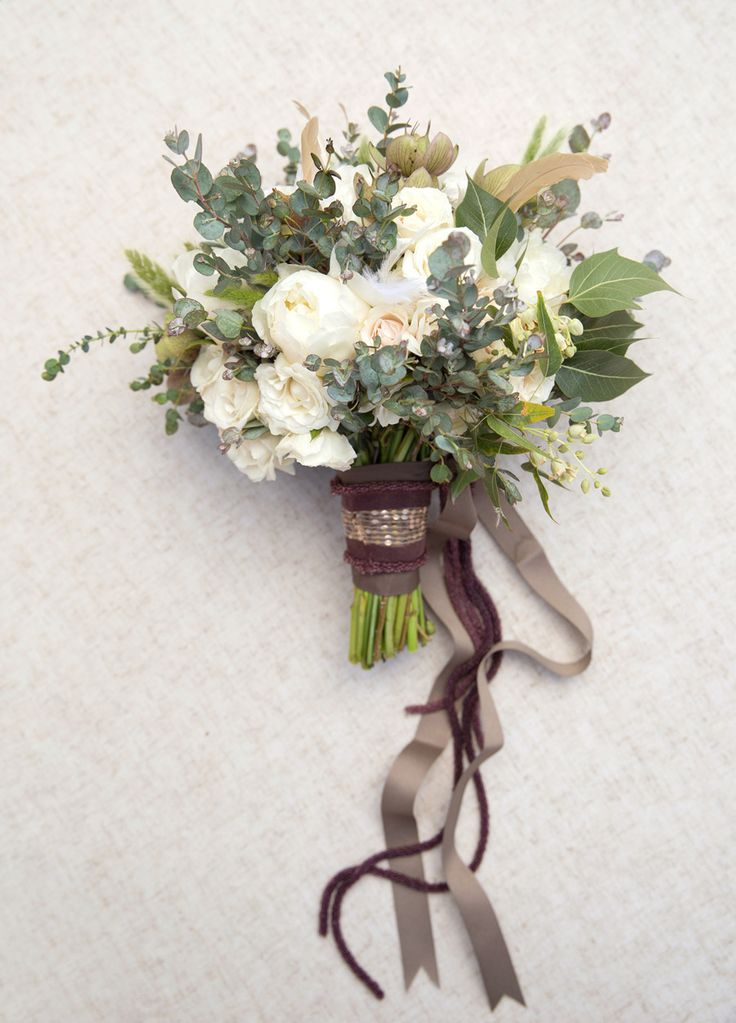 Green Wedding Bouquet | fabmood.com