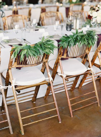 Green wedding chair decoration | fabmood.com