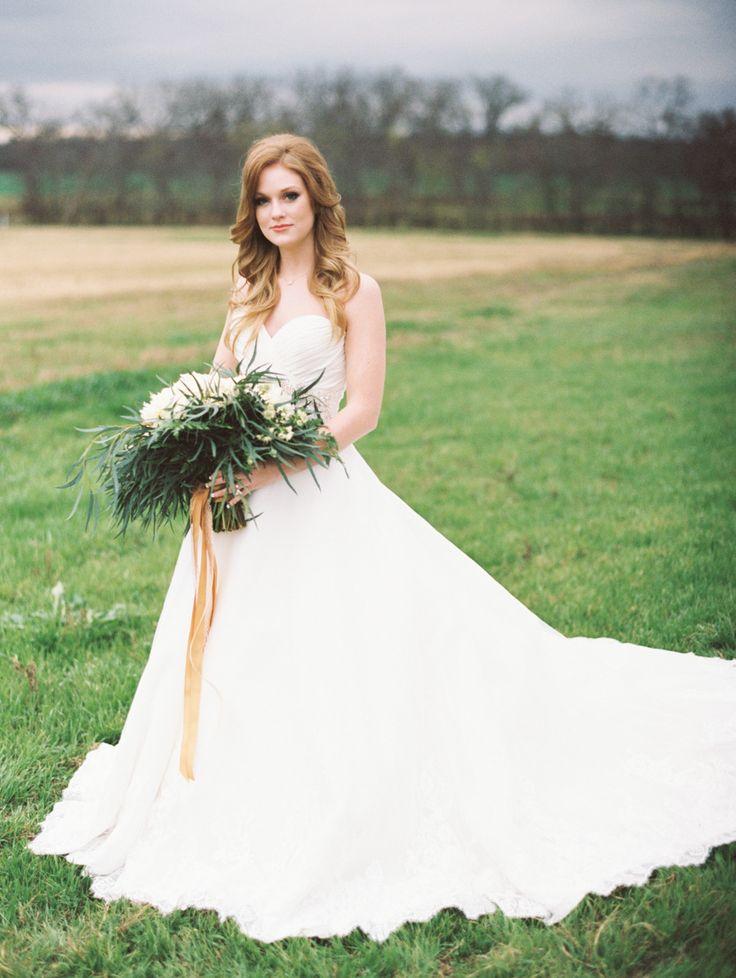 Green Wedding Bouquet | fabmood.com