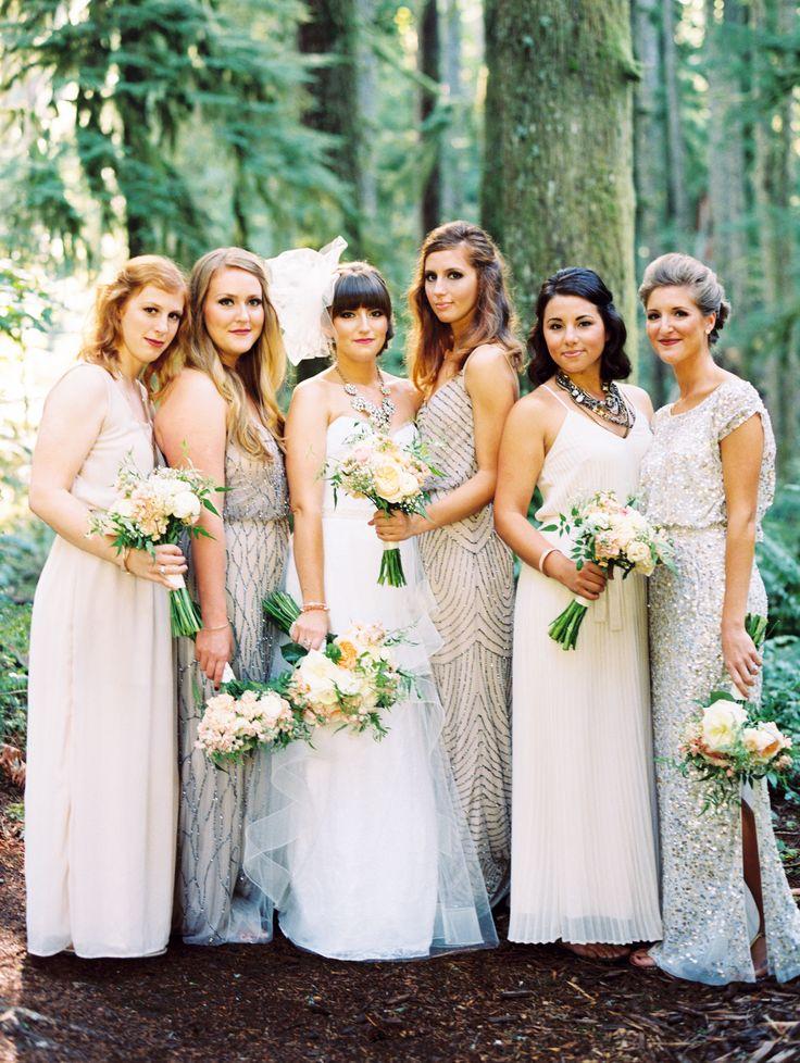 Rustic chic wedding bridemaid | fabmood.com