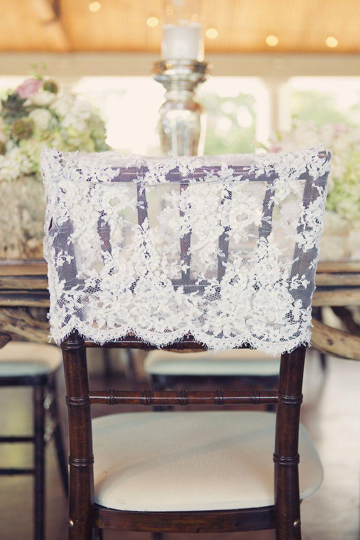 Rustic chic wedding chair : fabmood.com