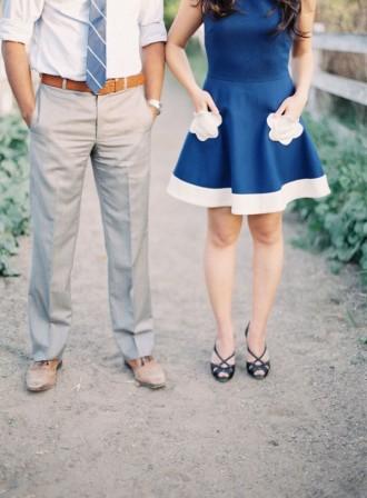 something blue wedding | fabmood.com