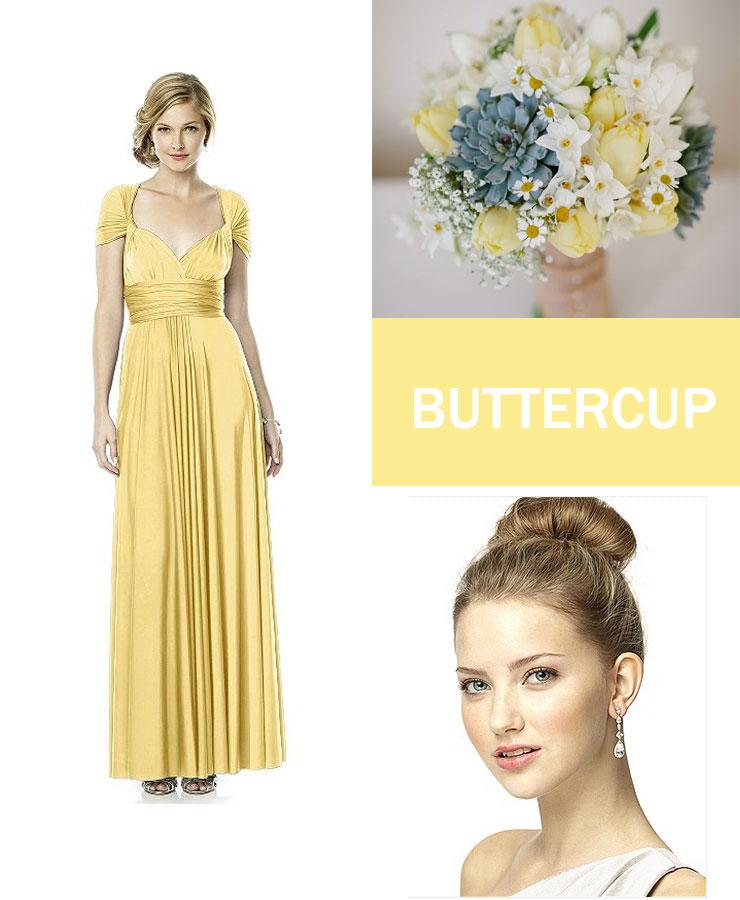 buttercup bridesmaid : fabmood.com