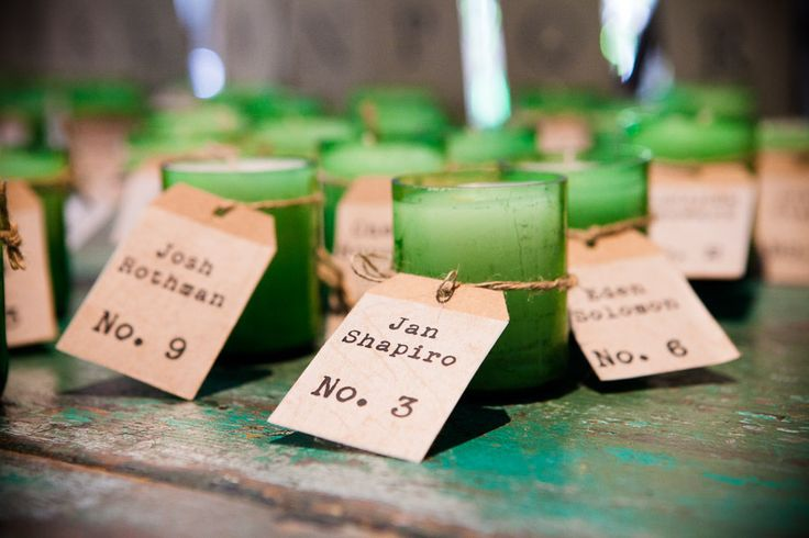 DIY Candle Wedding Favors{ Unique and Practical wedding favors } fabmood.com