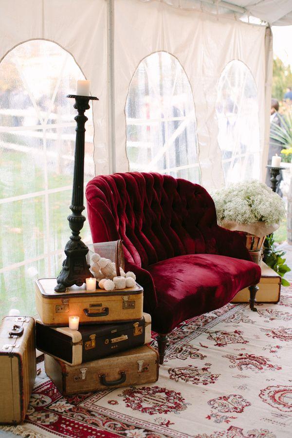 vintage wedding furniture wedding decor | fabmood.com