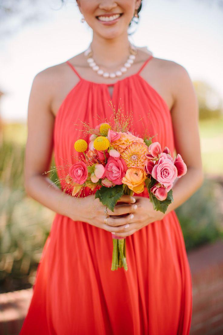 Bridesmaid dress for summer wedding orange bridesmaid dress for summer wedding ombrellifo Images