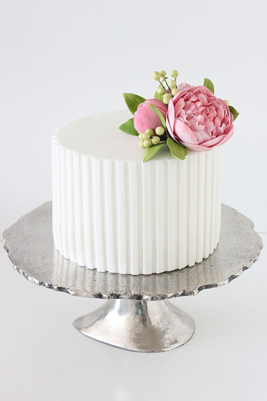Wedding Cake Ideas For Summer Wedding : 10 Summer wedding cakes - simple summer wedding cake ideas