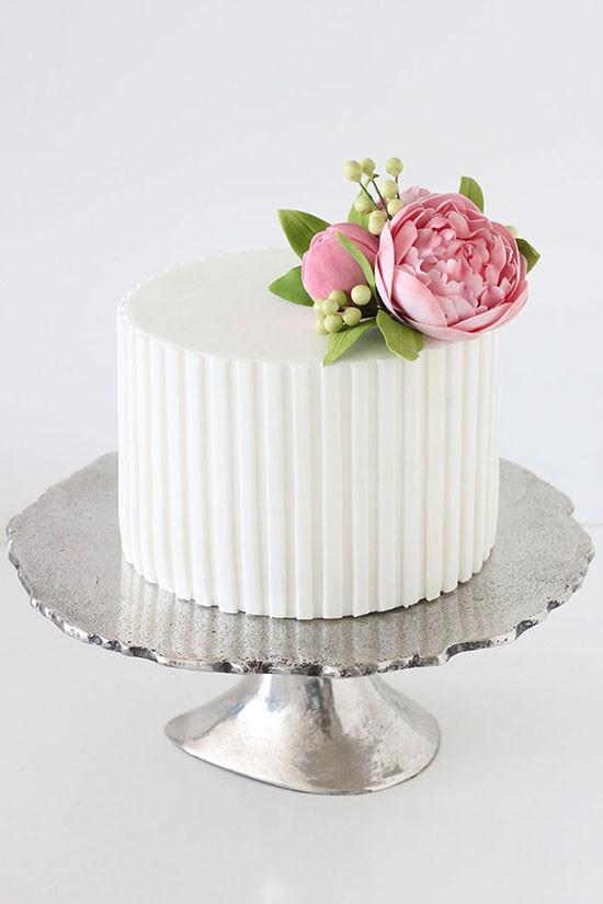 summer wedding cake | fabmood.com