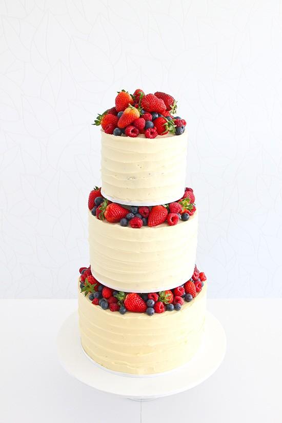 10 Summer Wedding Cakes Simple Summer Wedding Cake Ideas