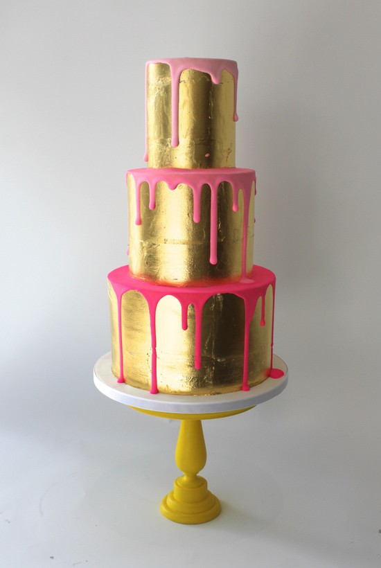 summer wedding cakes | fabmood.com