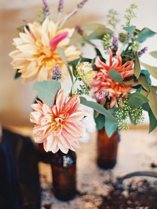 Fall wedding centerpieces | fabmood.com