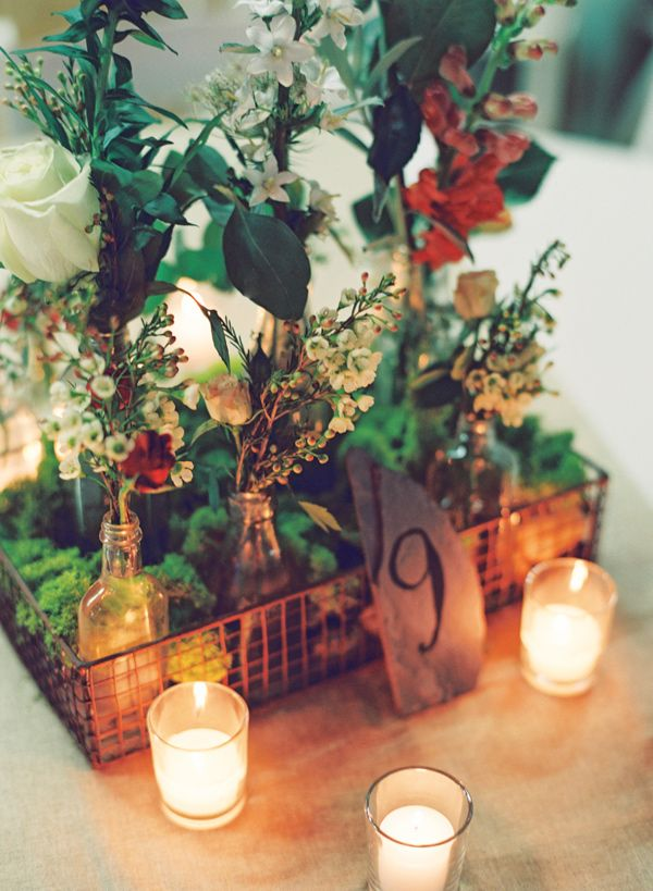 Autumn wedding table centerpieces for varying themes