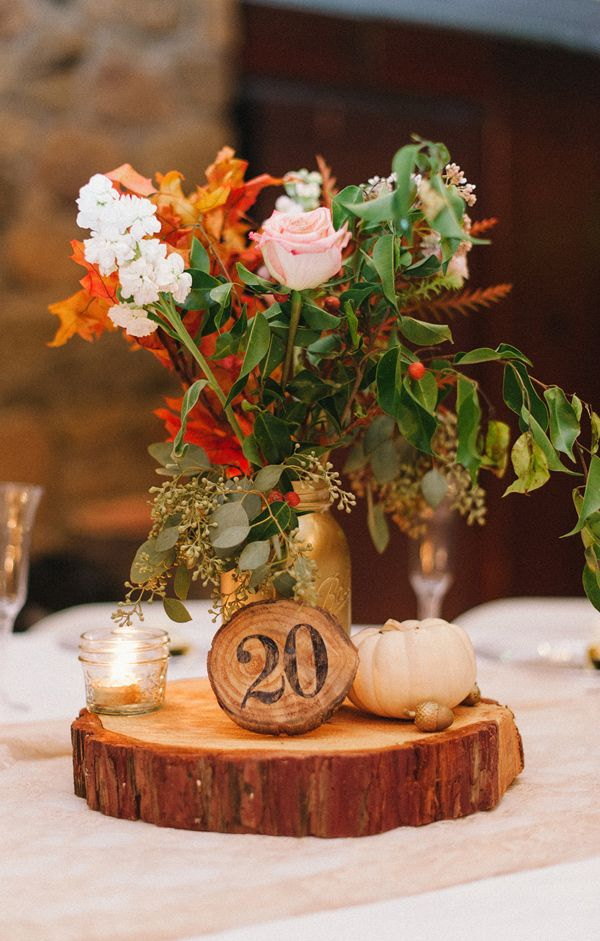 Fall centerpieces for round tables home design autumn wedding table centerpieces for varying wedding themes junglespirit Images