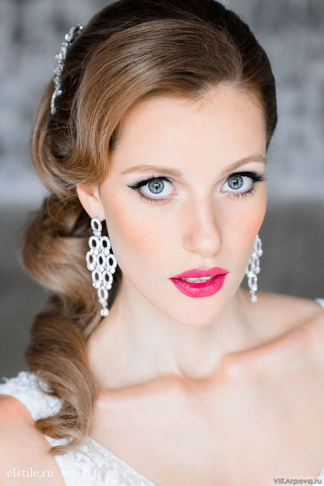 Vintage wedding hairstyles | fabmood.com