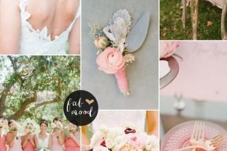Blush Pink Marsala Wedding Inspiration | fabmood.com