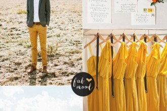 oak buff mustard autumn wedding colours | Pantone Fall 2015 inspired | fabmood.com