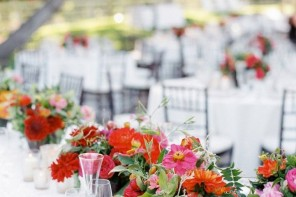 colourful centerpieces | fabmood.com