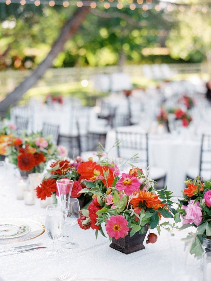 Summer wedding centerpieces ideas