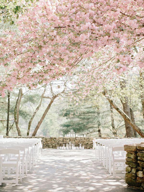 Romantic wedding ceremony setting  fabmood.com   Amy Arrington Photography