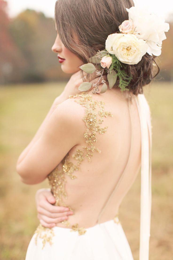 Darling sheer wedding dresses | fabmood.com