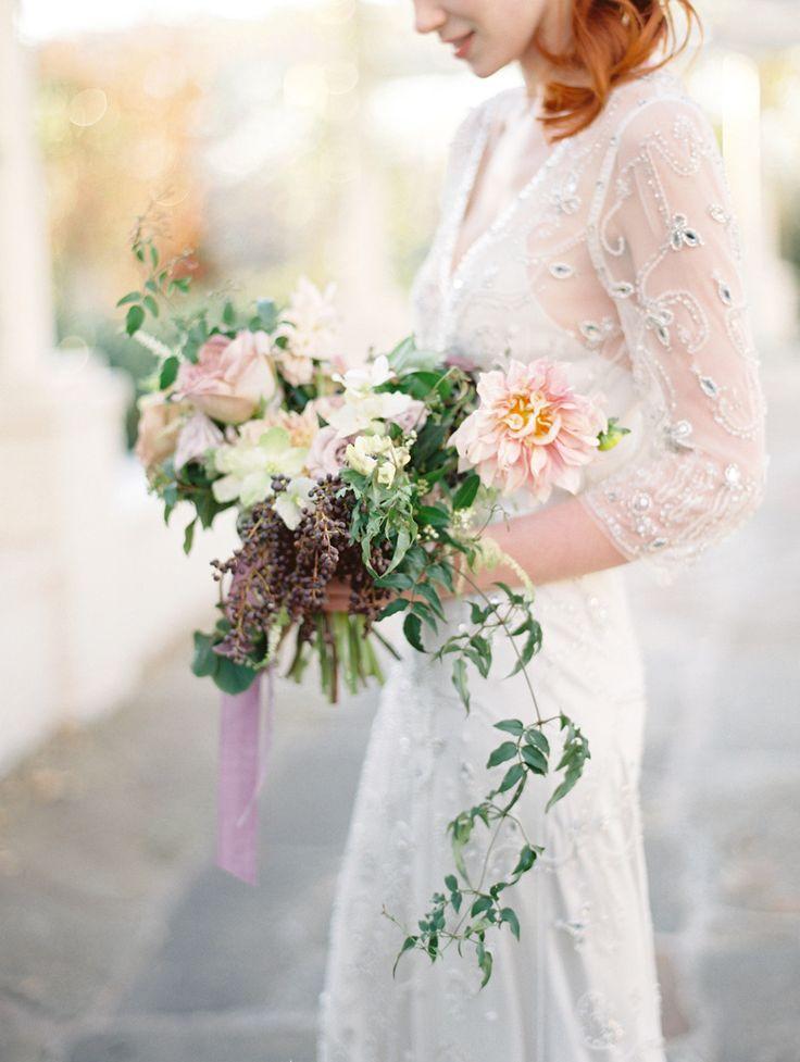 Sheer wedding gown | fabmood.com