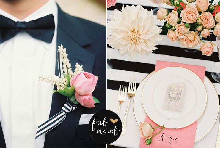 Creative Ways to Incorporate Black White and blush Wedding Into Your Wedding Décor