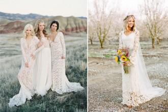 bohemian wedding dresses | fabmood.com #bohemian #weddingdresses #bohemianweddingdress