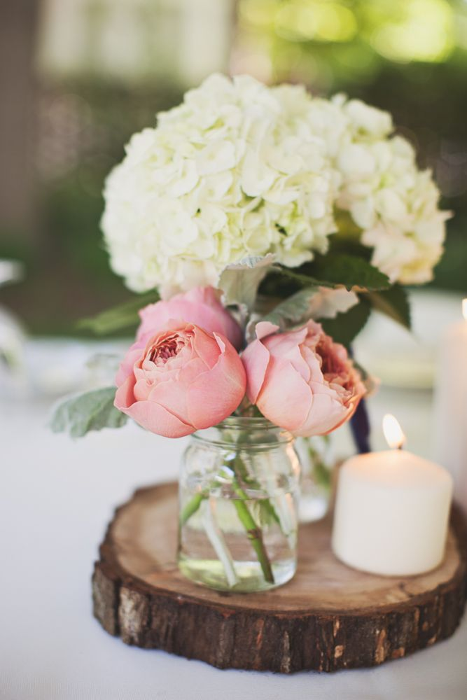 Unique wedding reception ideas on a budget – Simple wedding centerpieces