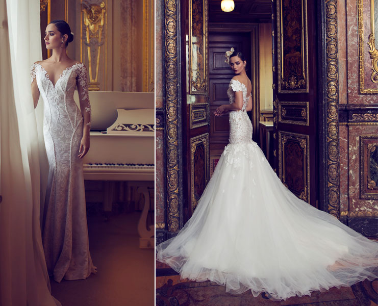 Nurit Hen Wedding Dresses | https://www.fabmood.com/nurit-hen-wedding-dresses-white-heart-bridal #bridal #weddingdresses #weddinggown