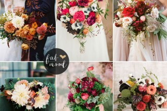 Ranunculus Fall Wedding Flower Colors Ideas | fabmood.com