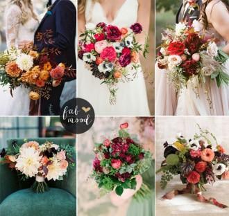 Ranunculus Fall Wedding Flower Colors Ideas | fabmood.com