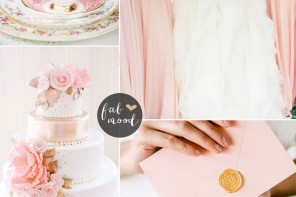 Rose Quartz Wedding Pantone Spring 2016 : https://www.fabmood.com/rose-quartz-wedding-theme #pinkwedding