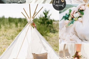 Bohemian Beach Wedding,Boho Wedding Colour Palette | fabmood.com