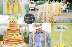 Buttercup Wedding Theme { Pantone Spring 2016 } https://www.fabmood.com/buttercup-wedding-theme-pantone #yellow #wedding