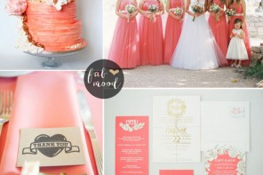 Peach Echo Wedding Theme { Pantone Spring 2016 } : https://www.fabmood.com/peach-echo-wedding-theme-pantone-spring-2016 #peachwedding